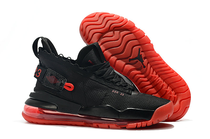 2019 Wholesale Cheap Nike Air Jordan Proto Max 720 Black And Red BQ6623-006 - www.wholesaleflyknit.com