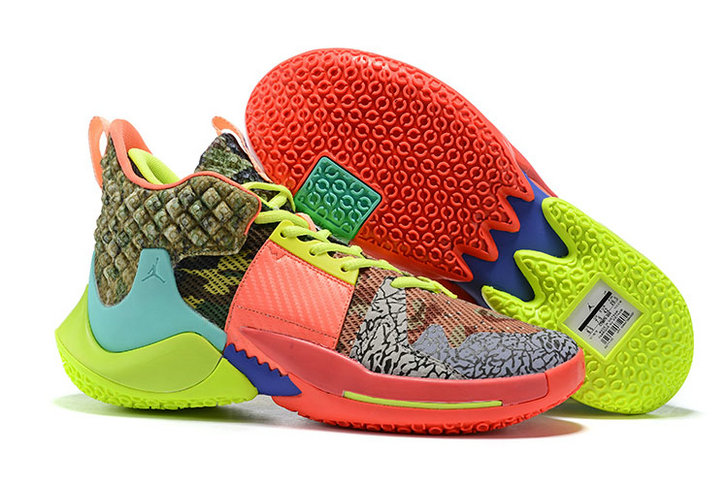 2019 Wholesale Cheap Nike Air Jordan Why Not Zer0.2 All Star Camo Green Hyper Turquoise-Volt-Infrared - www.wholesaleflyknit.com