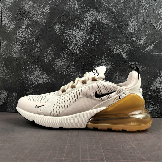 2019 Wholesale Cheap Nike Air Max 270 Light Orewood Brown AH8050-108 - www.wholesaleflyknit.com