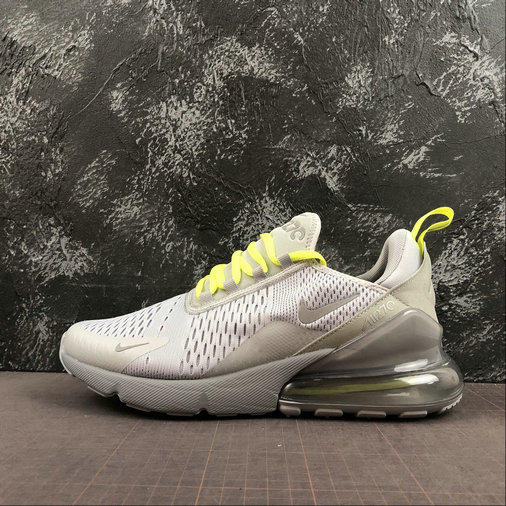 2019 Wholesale Cheap Nike Air Max 270 Wolf Grey Volt Reflect Silver CD7337-001 - www.wholesaleflyknit.com