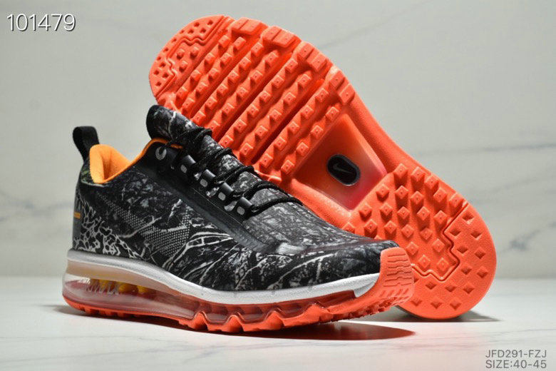 2019 Wholesale Cheap Nike Air Max 720 2.0 Grey Black White Team Orange - www.wholesaleflyknit.com