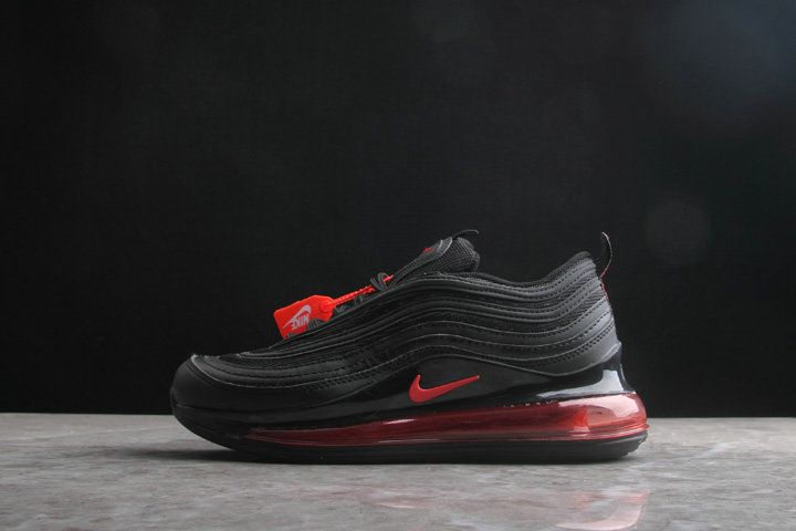 2019 Wholesale Cheap Nike Air Max 720 x 97 Black University Red - www.wholesaleflyknit.com