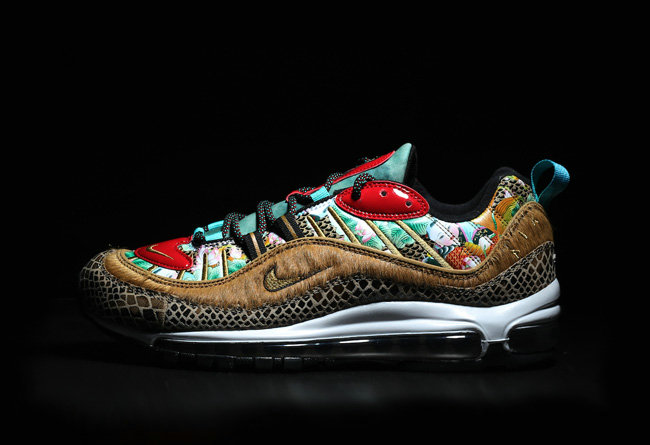 2019 Wholesale Cheap Nike Air Max 98 Chinese New Year 2019 Multi BV6649-708 - www.wholesaleflyknit.com