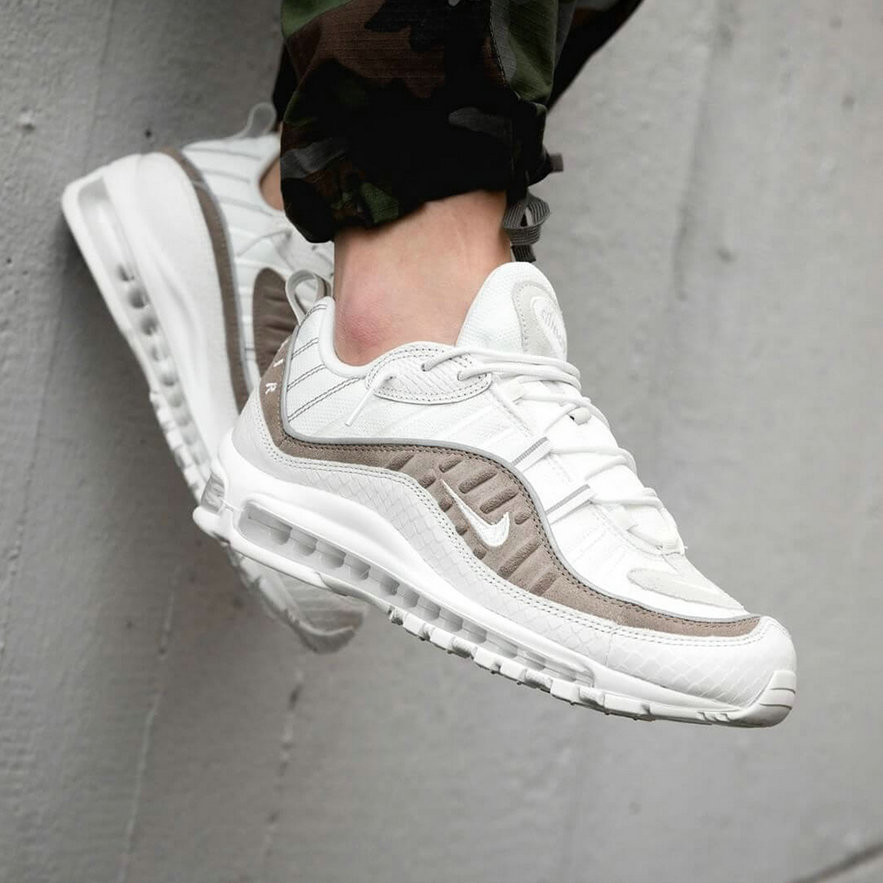 2019 Wholesale Cheap Nike Air Max 98 Exotic Skin Pack AO9380-100 - www.wholesaleflyknit.com