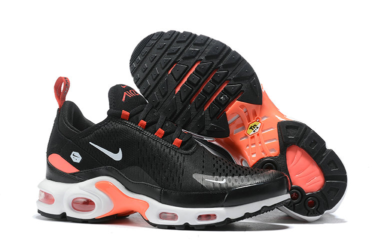 2019 Wholesale Cheap Nike Air Max TN x Air Max 270 Black Game Orange White - www.wholesaleflyknit.com