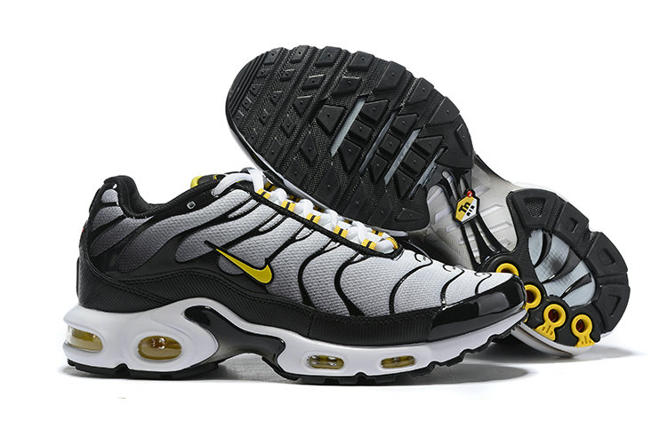 2019 Wholesale Cheap Nike Air max Plus Cold Grey Yellow White Black Gold - www.wholesaleflyknit.com