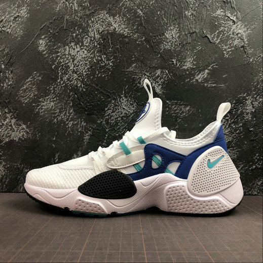 2019 Wholesale Cheap Nike Huarache EDGE TXT White Hyper Jade-Game Royal-Black AO1697-102 - www.wholesaleflyknit.com