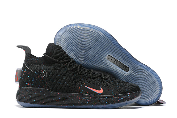 2019 Wholesale Cheap Nike KD 11 Just Do It Black Bright Crimson-Photo Blue AO2604-007 - www.wholesaleflyknit.com