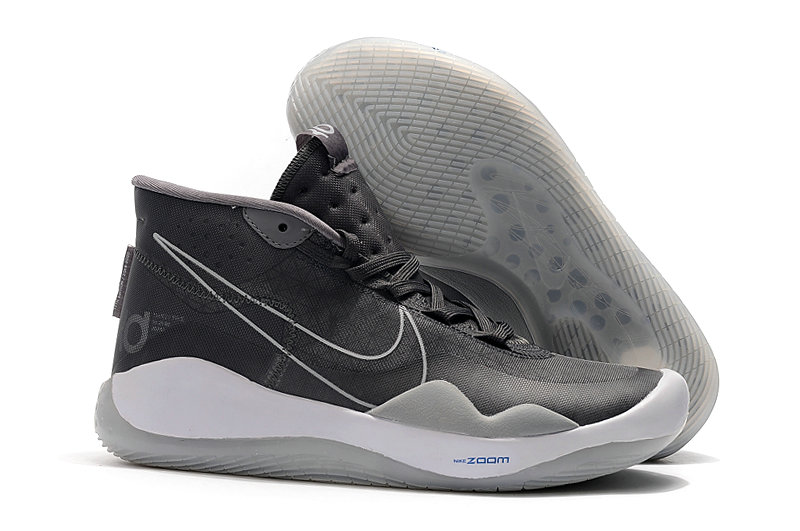 2019 Wholesale Cheap Nike KD 12 The Day One AR4229-001 Black Pure Platinum-White - www.wholesaleflyknit.com