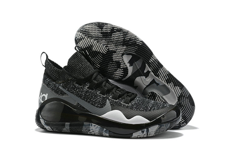 2019 Wholesale Cheap Nike Kevin Durant 12 Black Grey - www.wholesaleflyknit.com