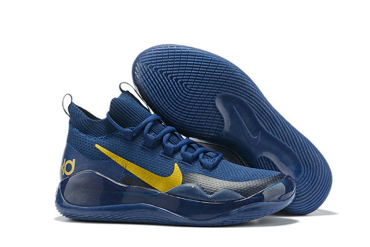 2019 Wholesale Cheap Nike Kevin Durant 12 Gold Royal Blue - www.wholesaleflyknit.com