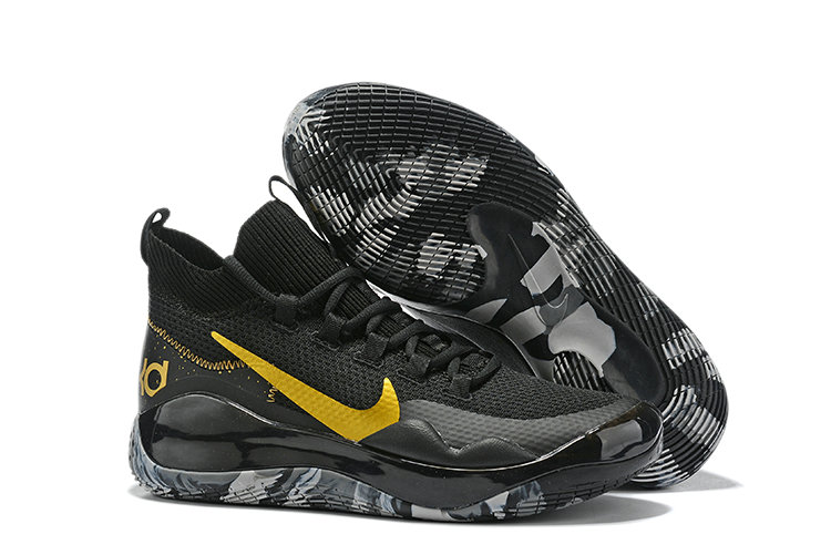 2019 Wholesale Cheap Nike Kevin Durant 12 Golden Black Grey - www.wholesaleflyknit.com