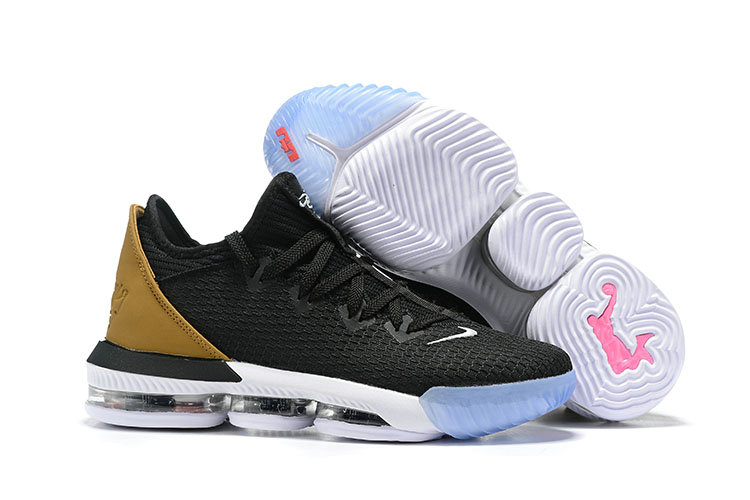 2019 Wholesale Cheap Nike LeBron 16 Low Soundtrack Black Multicolor-White CI2668-001 - www.wholesaleflyknit.com