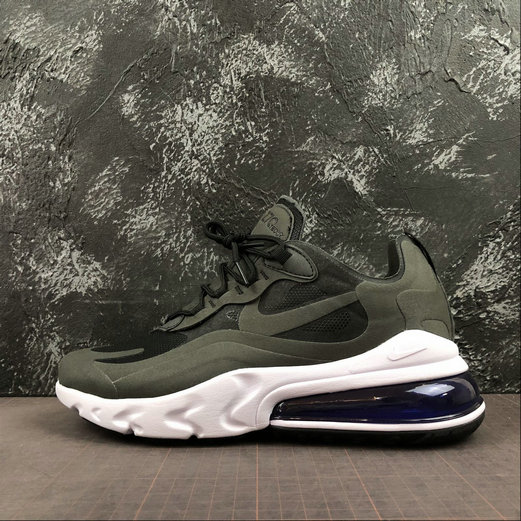2019 Wholesale Cheap Nike React Air Max 270 Black Carbone Grey Noir Gris AQ9087-010 - www.wholesaleflyknit.com
