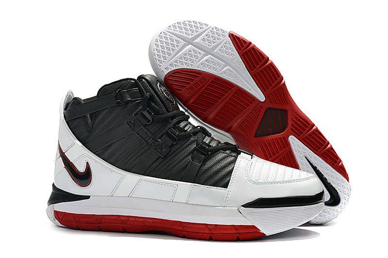 2019 Wholesale Cheap Nike Zoom Lebron 3 Qs Home White-Black-Varsity Red A02434-101 - www.wholesaleflyknit.com