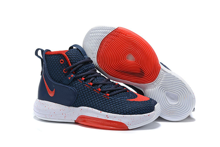 2019 Wholesale Cheap Nike Zoom Rise Navy Blue Red White - www.wholesaleflyknit.com