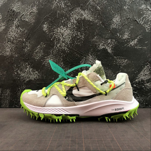 2019 Wholesale Cheap Off-White x Nike Zoom Terra Kiger 5 White Metallic Silver Sail Safety Orange Blanc Argmet CD8179-100 - www.wholesaleflyknit.com
