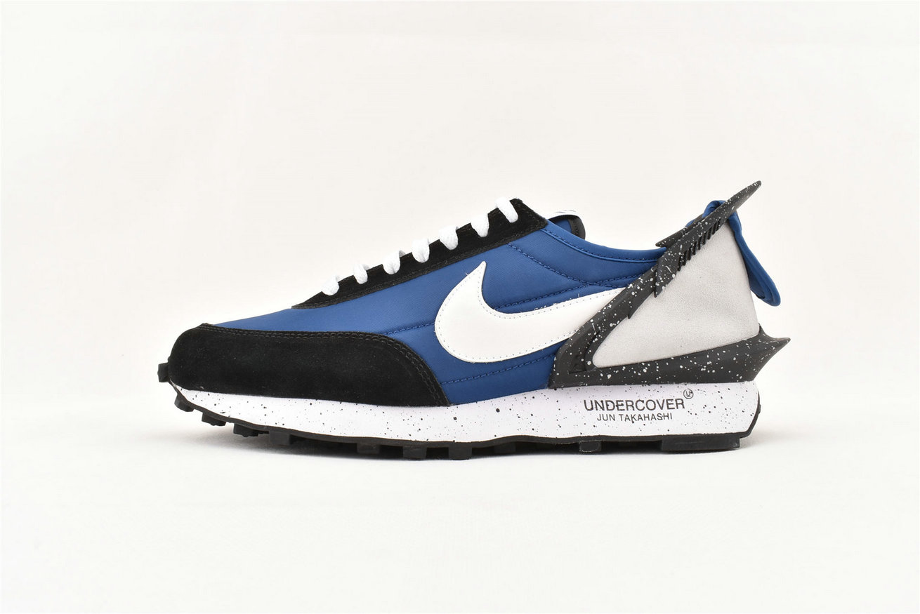 2019 Wholesale Cheap Sacai x Nike Waffle Racer Blue Black-White AA6853-401 - www.wholesaleflyknit.com
