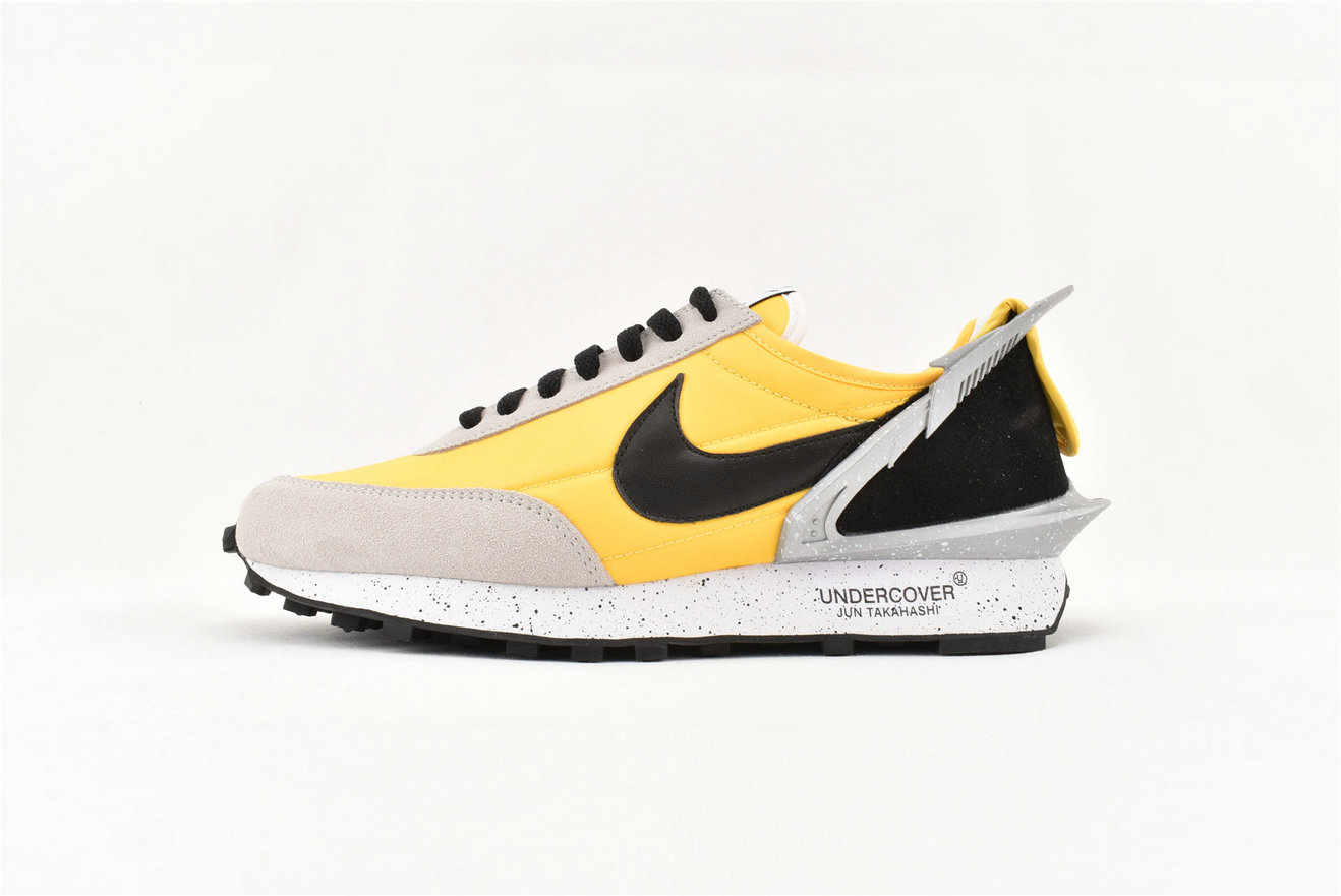 2019 Wholesale Cheap Sacai x Nike Waffle Racer Yellow Grey Black AA6853 007 - www.wholesaleflyknit.com