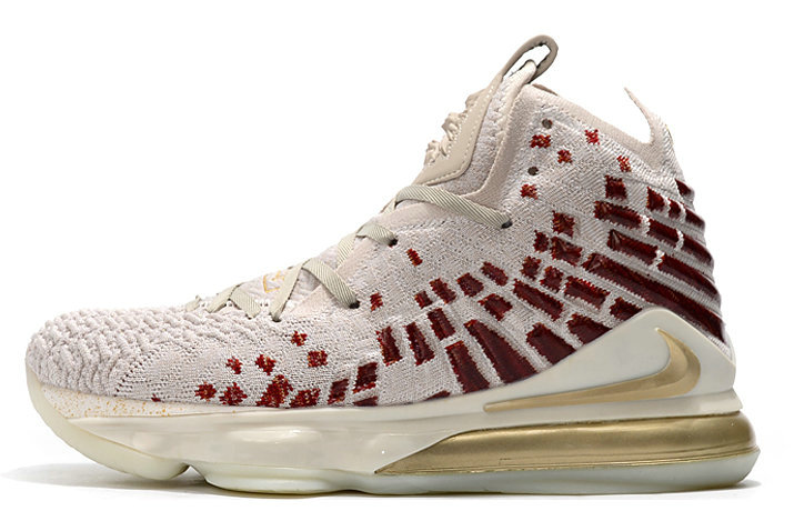 Where To Buy 2019 Harlem Fashion Row x Nike LeBron 17 Desert Sand Metallic Gold-Cedar CT3466-001 For Sale - www.wholesaleflyknit.com