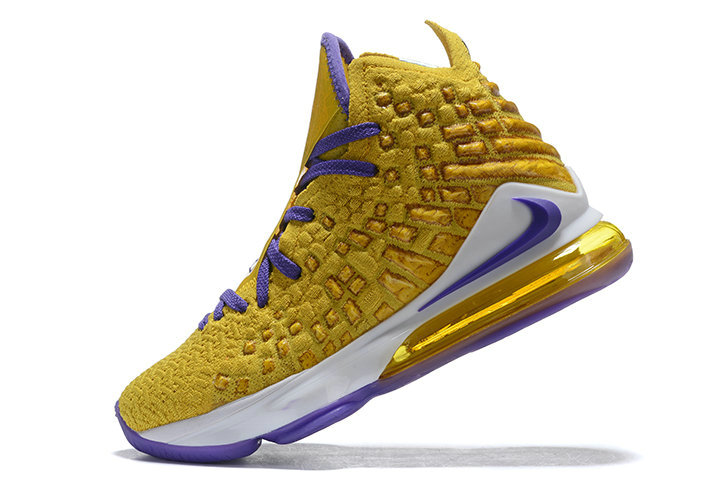 Where To Buy 2019 Mens Nike LeBron 17 XVII EP What The Metallic Gold Purple-White For Sale - www.wholesaleflyknit.com