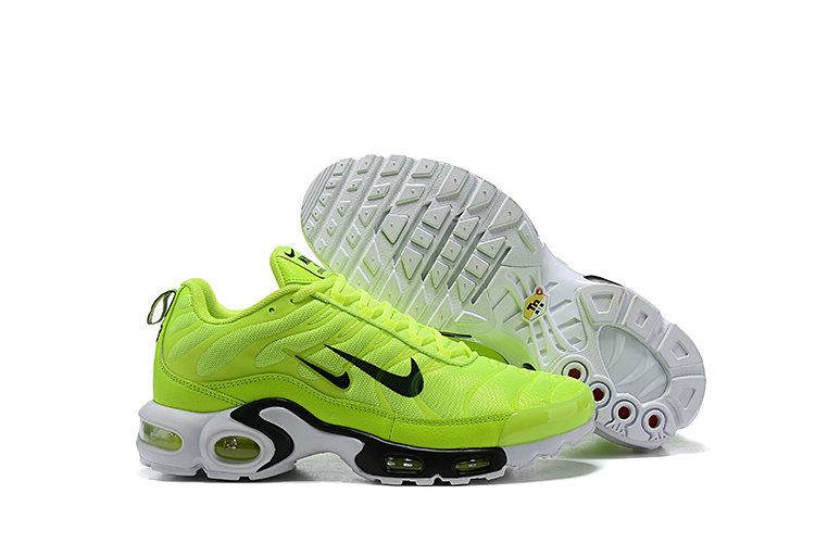 new style efb46 3509f Wholesale 2019 Nike Air Max TN Plus Cheap Grass Green Black White-www .wholesaleflyknit