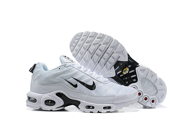 official photos c4dbb f5d98 Wholesale 2019 Nike Air Max TN Plus Cheap White Black-www .wholesaleflyknit.com
