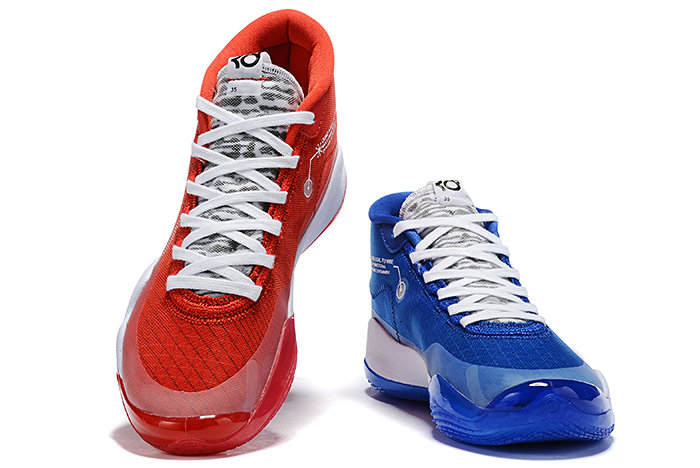 Where To Buy 2019 Nike KD 12 Team Bank Game Royal and University Red For Sale - www.wholesaleflyknit.com