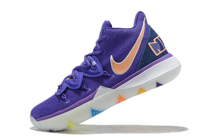 Where To Buy 2019 Nike Kyrie 5 Have A Nike Day Glacier Blue Purple Gold White - www.wholesaleflyknit.com