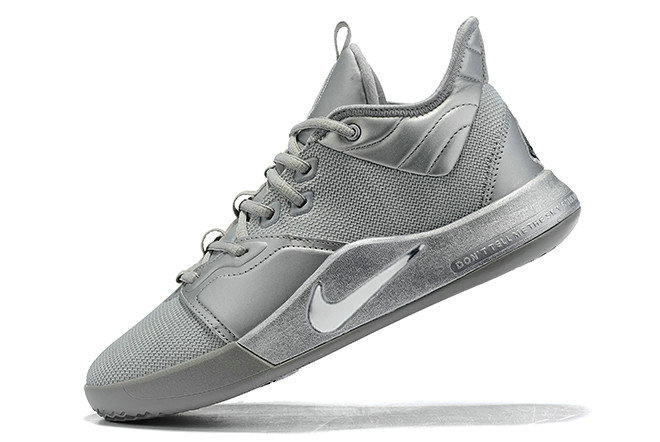 Where To Buy 2019 Nike PG 3 NASA Reflect Silver CI2667-001 For Sale - www.wholesaleflyknit.com