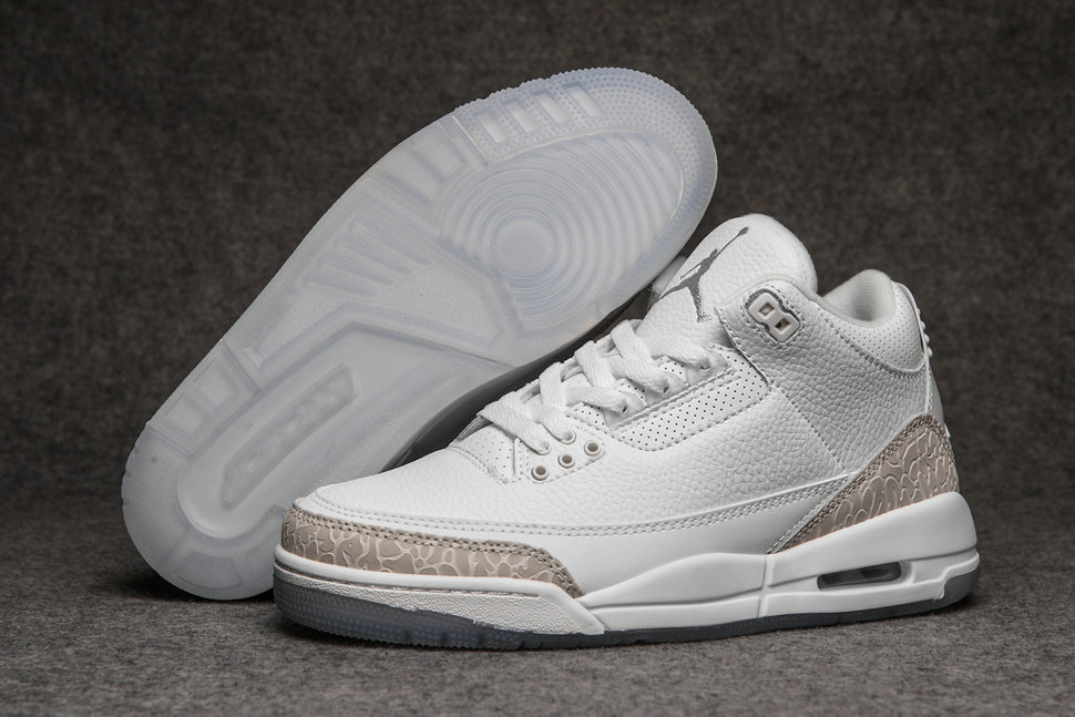 2019 Restock Cheapest Wholesale Nike Air Jordan 3 White Rose Gold - www.wholesaleflyknit.com