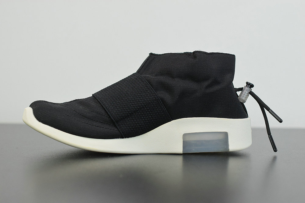 2019 Where To Buy Cheap Wholesale Nike Air Fear Of God Mid Black White AR8008-201 - www.wholesaleflyknit.com