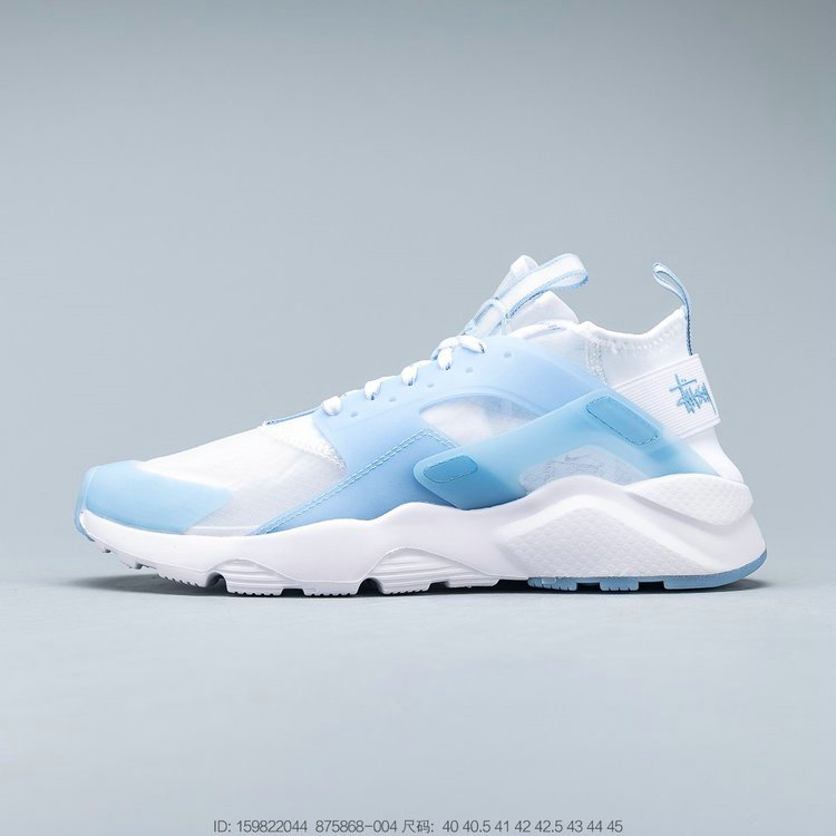 2019 Where To Buy Cheap Wholesale Nike Air Huarache Run Ultra Transparent Sky Blue Transparence Azur 875868-004 - www.wholesaleflyknit.com