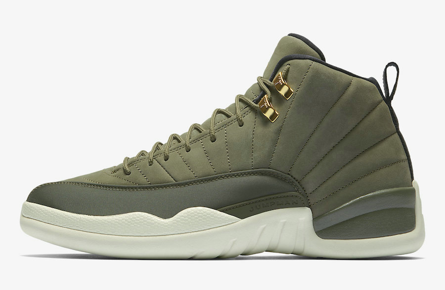 2019 Where To Buy Cheap Wholesale Nike Air Jordan 12 CP3 Class of 2003 Olive Canvas Sail Black-Metallic Gold 130690-301 - www.wholesaleflyknit.com