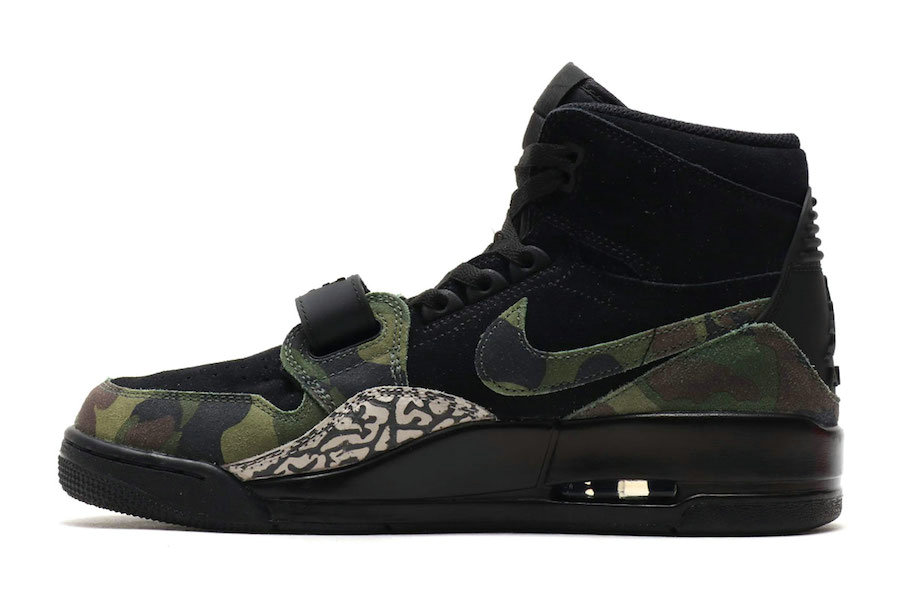 2019 Where To Buy Cheap Wholesale Nike Air Jordan Legacy 312 Black Camo Green-Black AV3922-003 - www.wholesaleflyknit.com