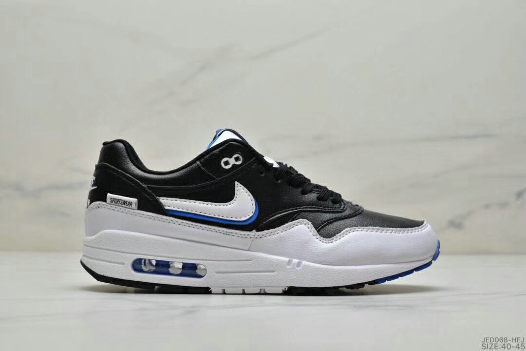 2019 Where To Buy Cheap Wholesale Nike Air Max 1 87 Black White - www.wholesaleflyknit.com