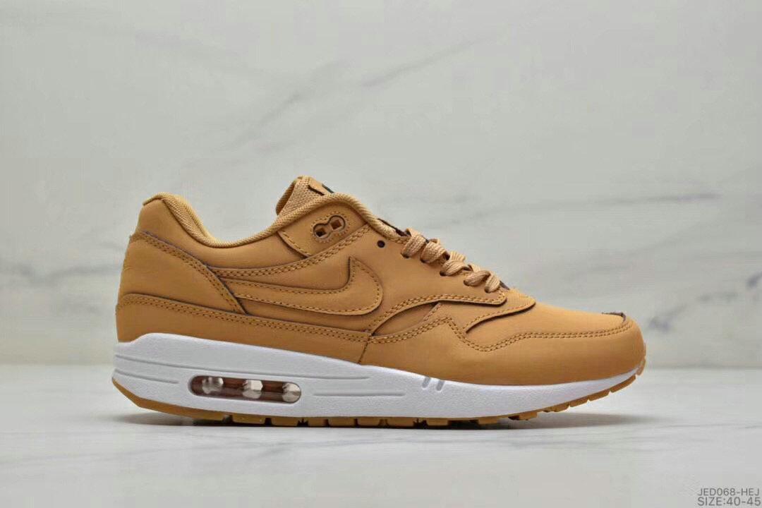 2019 Where To Buy Cheap Wholesale Nike Air Max 1 87 Wheat White - www.wholesaleflyknit.com