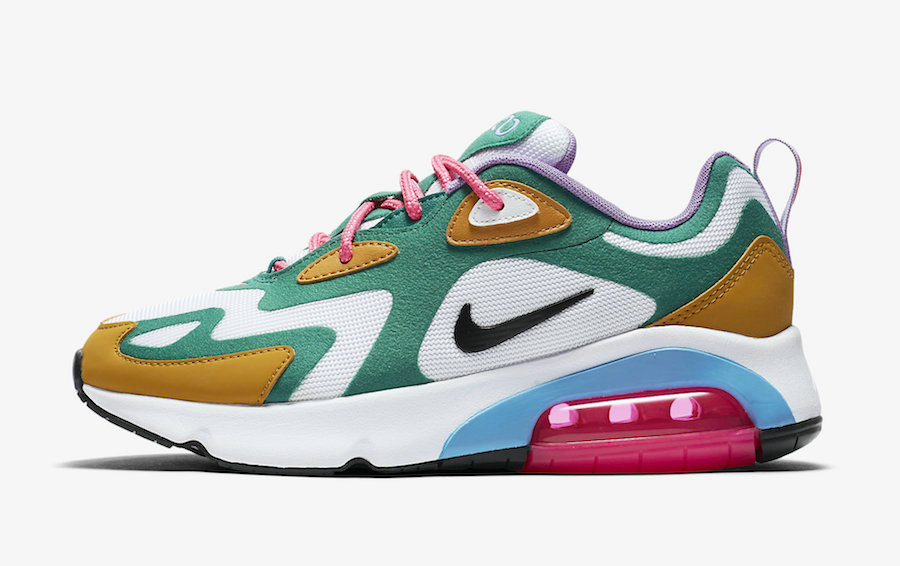 2019 Where To Buy Cheap Wholesale Nike Air Max 200 Mystic Green White-Gold Suede AT6175-300 - www.wholesaleflyknit.com