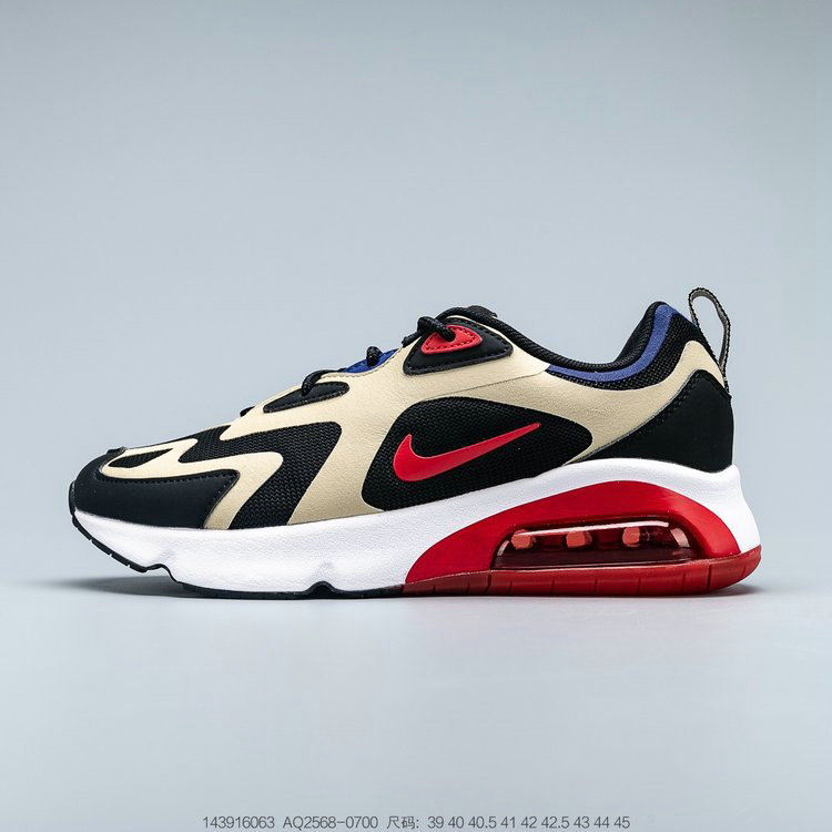 2019 Where To Buy Cheap Wholesale Nike Air Max 200 Team Gold University Red Black Equipe Or Universite Rouge AQ2568-700 - www.wholesaleflyknit.com