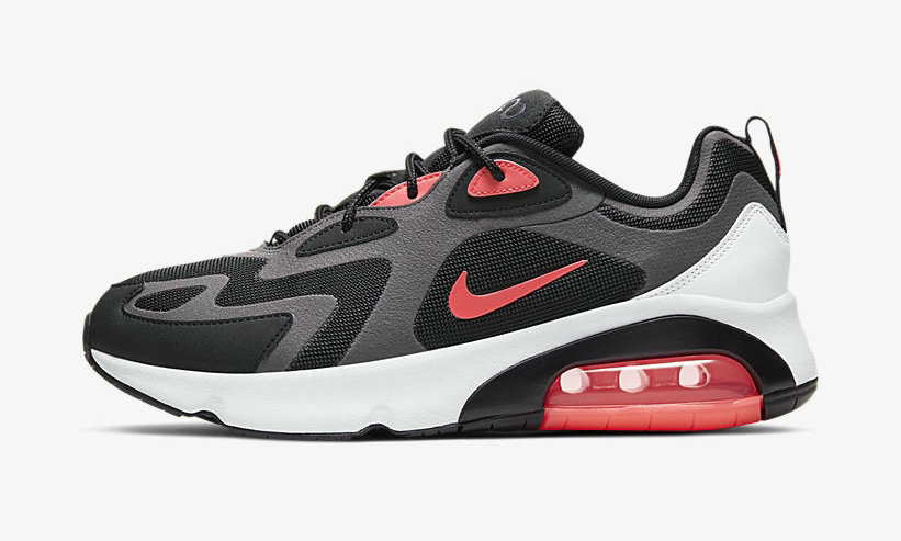 2019 Where To Buy Cheap Wholesale Nike Air Max 200 Thunder Grey Hot Punch Black Wolf AQ2568 005 - www.wholesaleflyknit.com