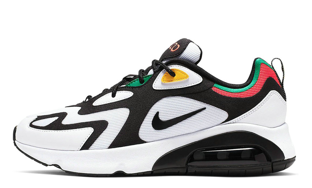 2019 Where To Buy Cheap Wholesale Nike Air Max 200 White Multi AQ2568-101 - www.wholesaleflyknit.com