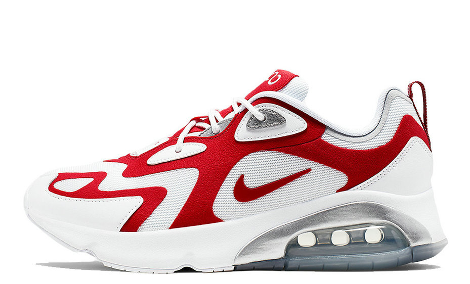2019 Where To Buy Cheap Wholesale Nike Air Max 200 White Red AQ2568-100 - www.wholesaleflyknit.com
