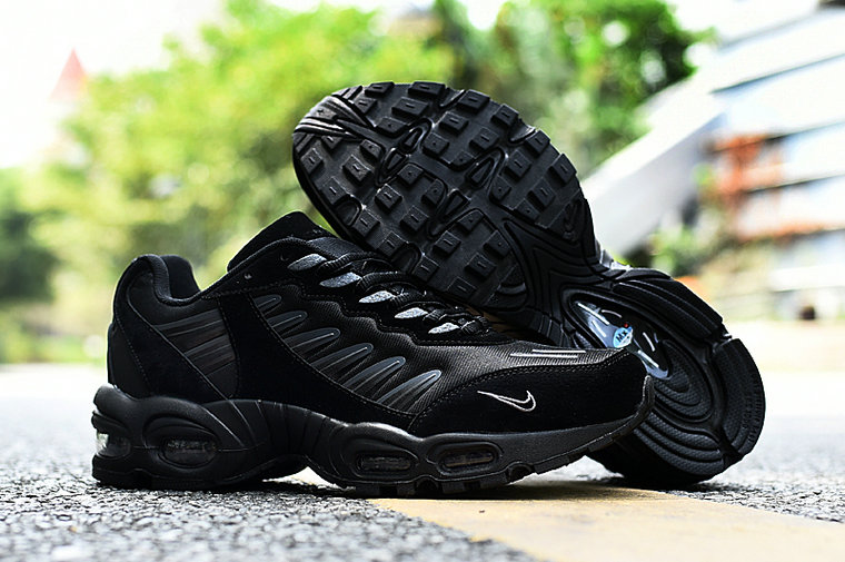 2019 Where To Buy Cheap Wholesale Nike Air Max TN 5 All Black - www.wholesaleflyknit.com