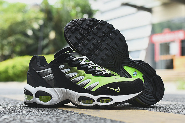 2019 Where To Buy Cheap Wholesale Nike Air Max TN 5 Violt Green Black White - www.wholesaleflyknit.com