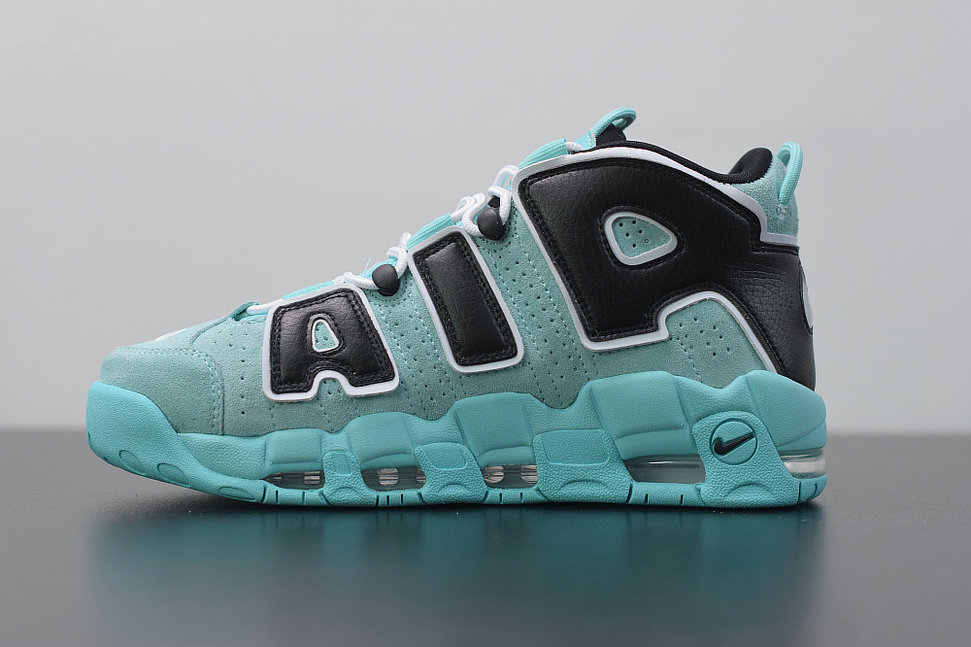 2019 Where To Buy Cheap Wholesale Nike Air More Uptempo Light Aqua Black White Supreme 8-9 Basketball CN8118 400 - www.wholesaleflyknit.com