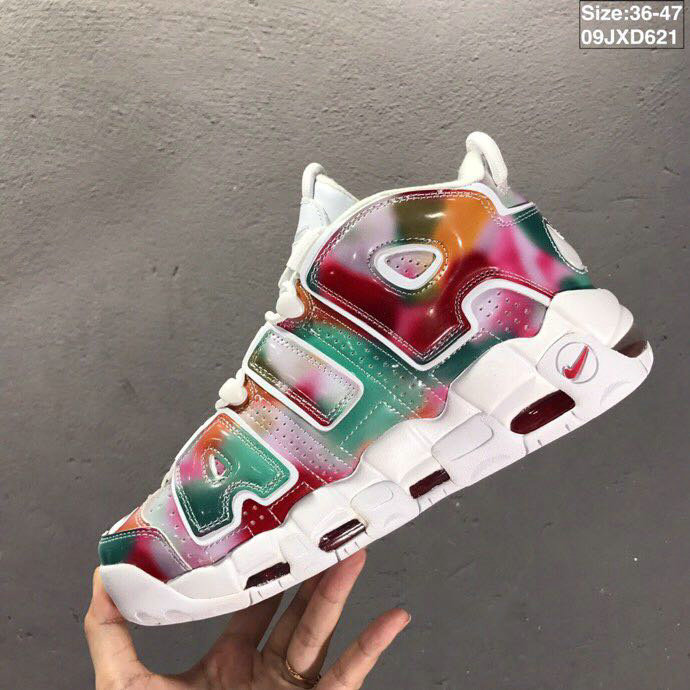 2019 Where To Buy Cheap Wholesale Nike Air More Uptempo UK Yellow Speed Red Green-White AV3809-700 - www.wholesaleflyknit.com