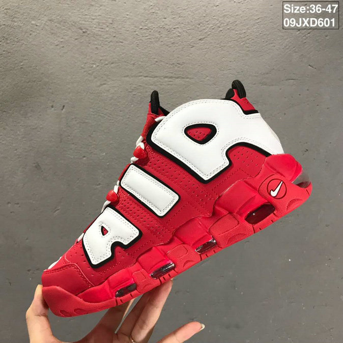 2019 Where To Buy Cheap Wholesale Nike Air More Uptempo University Red CD9402-600 - www.wholesaleflyknit.com