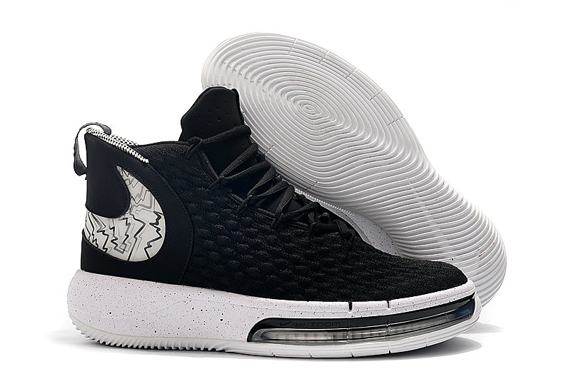 2019 Where To Buy Cheap Wholesale Nike AlphaDunk Black White - www.wholesaleflyknit.com