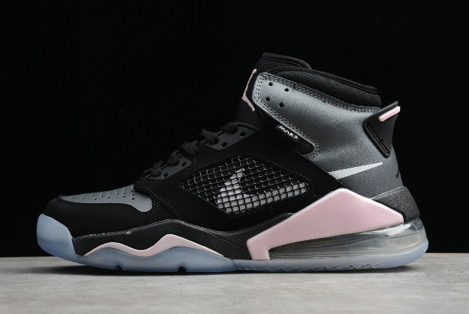 2019 Where To Buy Cheap Wholesale Nike Jordan Mars 270 Black Grey Hyper Pink For Sale CD7070-002 - www.wholesaleflyknit.com