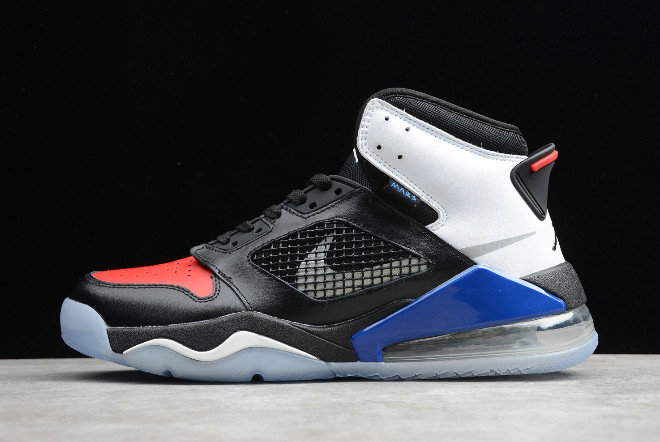 2019 Where To Buy Cheap Wholesale Nike Jordan Mars 270 Top 3 Black White-Red Blue CD7070-001 - www.wholesaleflyknit.com